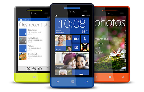 HTC Windows Phone 8S - 7