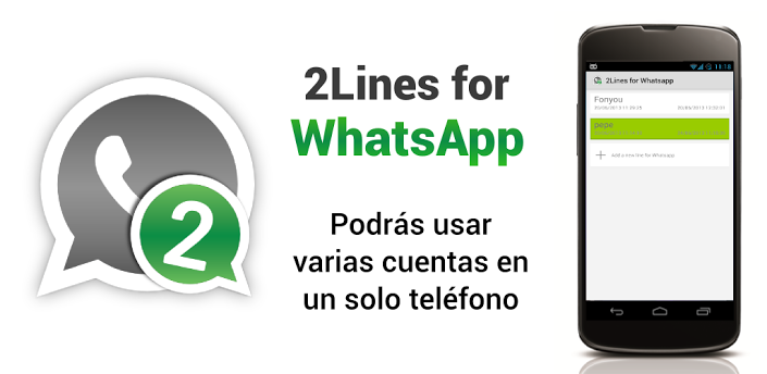 2Lines for WhatsApp